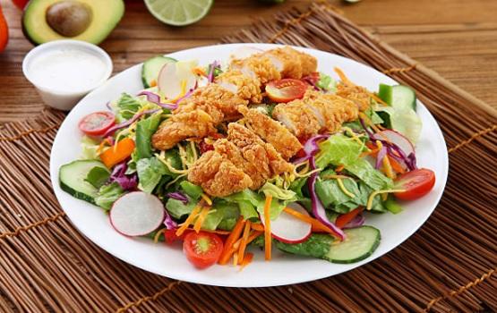 Crunchy chicken breast